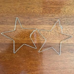 Jewelry - NEW Silver star earrings